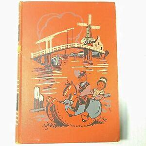 VTG-1949-Childcraft-Book-Vol-5-Life-In-Many-Lands-Orange-Hardcover