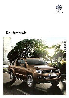 2019 Nieuwe Stijl Prospekt / Brochure Vw Amarok 01/2013 En Digestion Helping