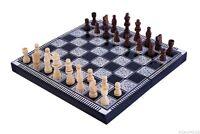 Schachspiel Dame Backgammon Schach 3 In 1 Ni-015
