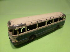 DINKY TOYS 29F BUS AUTOCAR CHAUSSON - BLUE WHITE 1:60? - GOOD CONDITION
