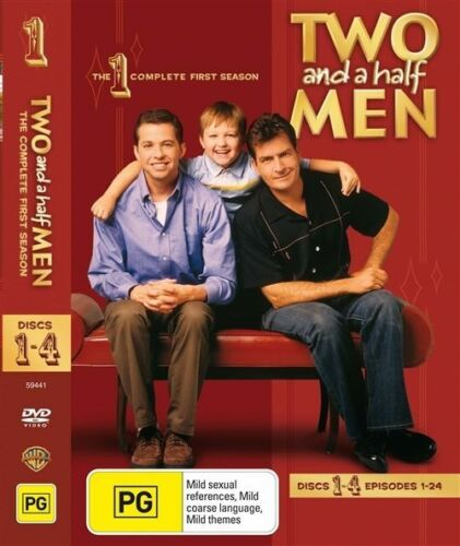1 of 1 - Two And A Half Men : Season 1 (DVD, 2006, 4-Disc Set) Region 4 DVD Brand NEW
