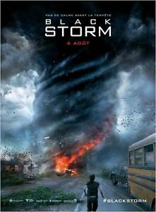 Affiche-40x60cm-Black-Storm-Into-The-Storm-2014-Richard-Armitage-Call-TBE