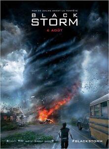 Affiche-120x160cm-Black-Storm-Into-The-Storm-2014-Richard-Armitage-NEUVE