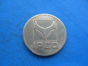 (f) Ipso 12k Linge Couleur Or Jeton Coin-afficher Le Titre D'origine De Haute Qualité Et Peu CoûTeux