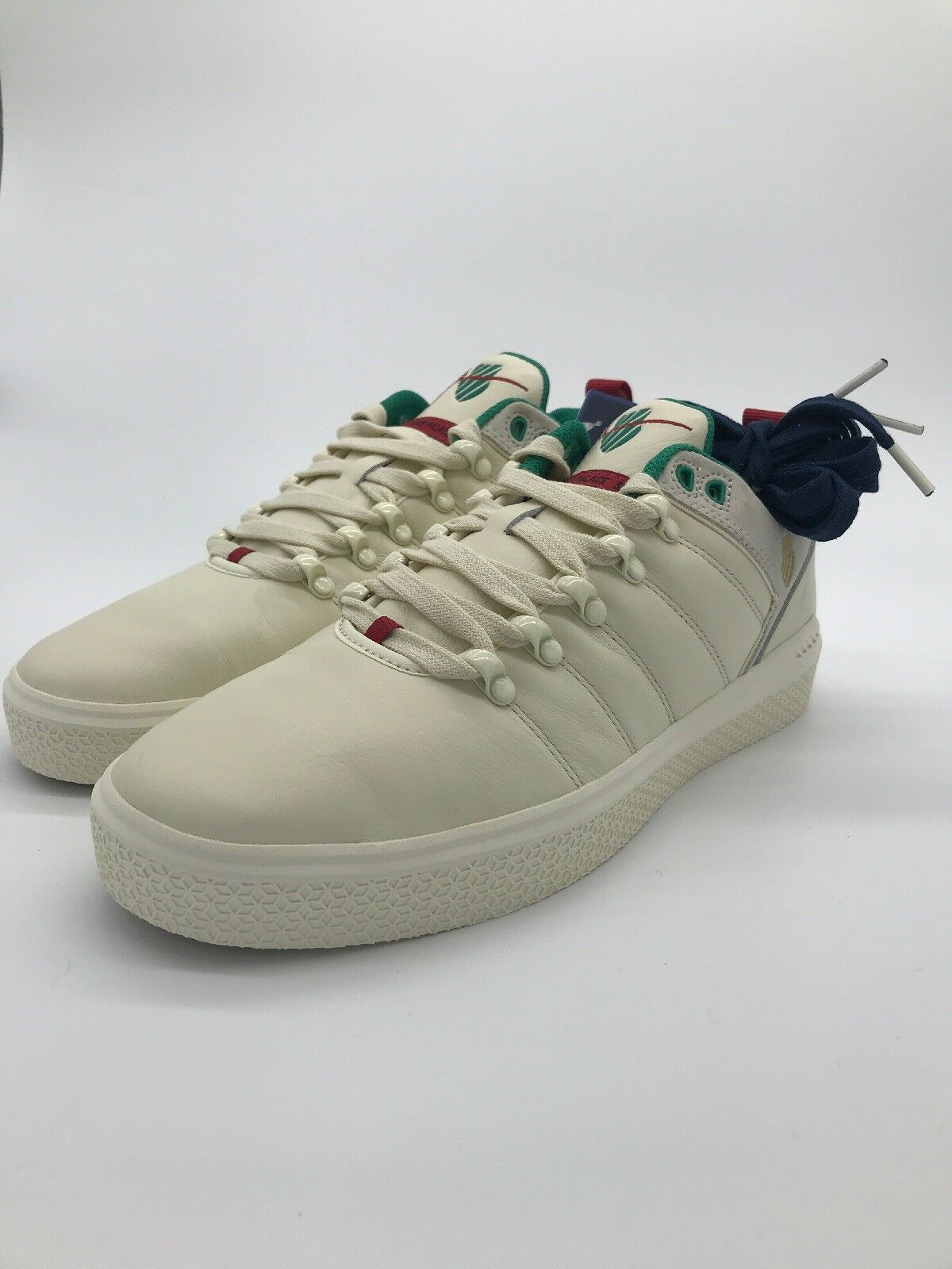 shoes Palace X K Swiss GARYVEE SP25 ANNIVERSARY (Antique White Green Red)sz 11.5