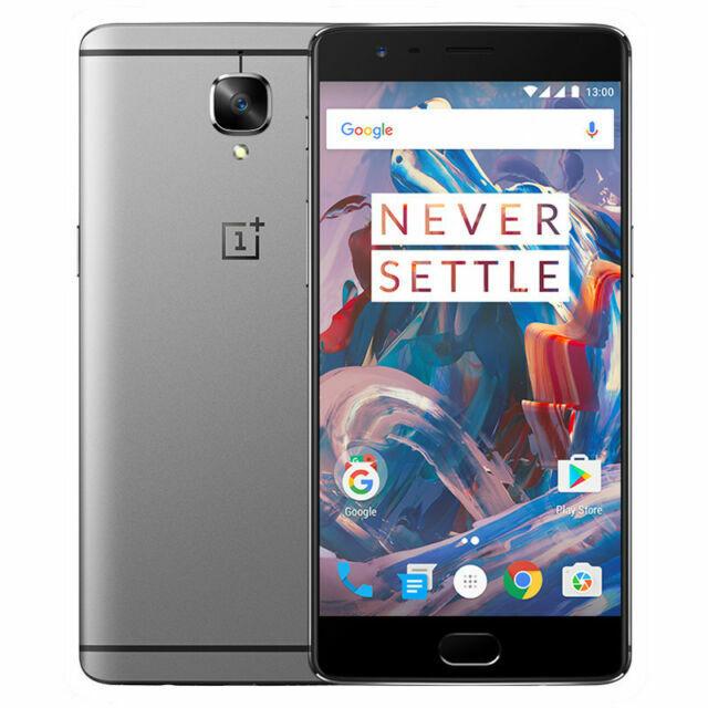 Oneplus 3 64gb Graphite Unlocked Smartphone For Sale Online Ebay