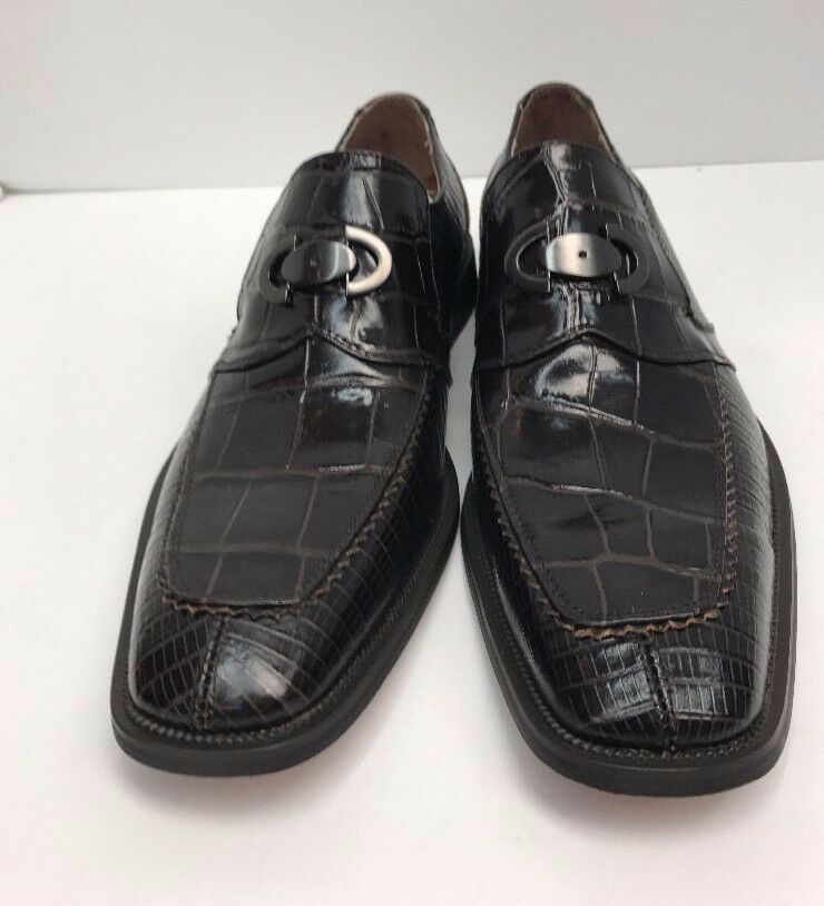 7e9c21dc070 ... Men s Fratelli Select Chocolate Loafer Shoes Leather Upper Lining Sizes  Sizes Sizes 8.5-10.5 ...