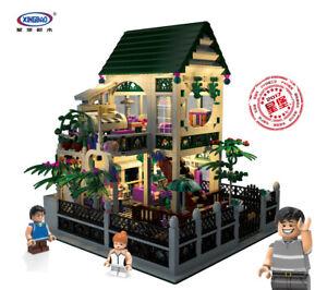 Xingbao-Bausteine-Ostern-Romantische-Herzvilla-House-Creator-Spielzeug-1500Pcs
