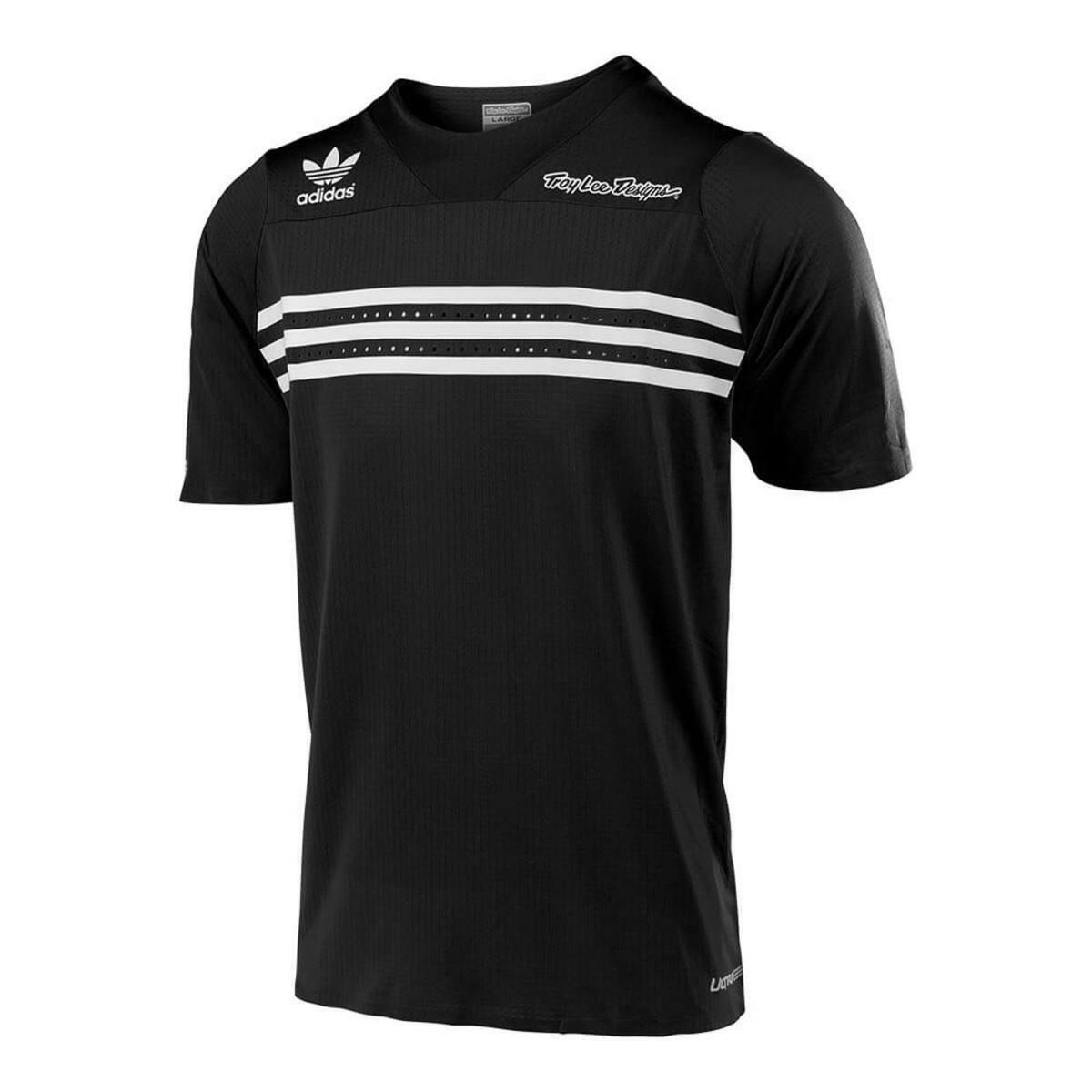 Troy Lee Designs Jersey Kurzarm Ultra Adidas Team Schwarz
