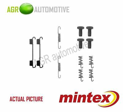 NEW MINTEX REAR PARKING BRAKE SHOES SET FITTING KIT GENUINE OE QUALITY MBA622