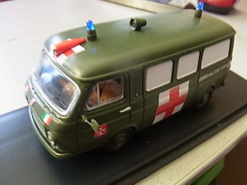 Ordine di Malta Rio 1:43 modello rio4443 FIAT 238 ambulanza SMOM Sovrano VAM