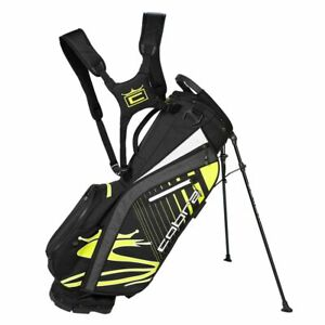 New Cobra Ultralite Stand Bag Fluo Yellow 909402 10