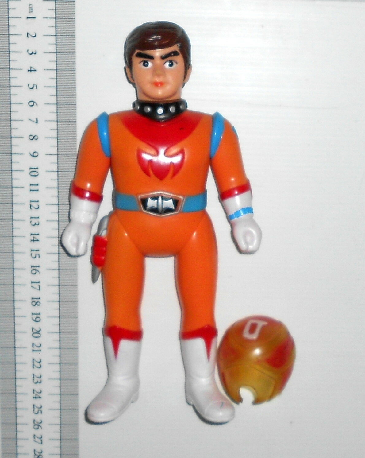 Zero tester vinyl sofubi 24cm with removable mask helmet popy