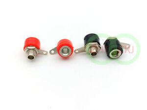 200PCS 5 color 2mm banana socket FOR banana plug Power Test probe Binding Posts