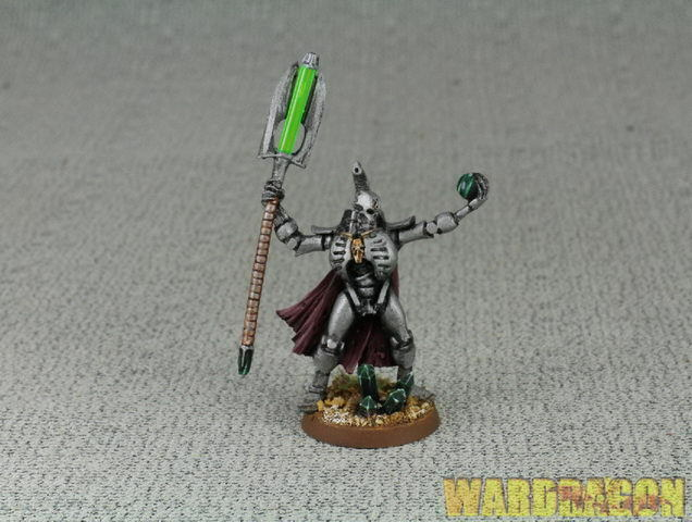25mm Warhammer 40K WDS  painted Necrons Necron Lord with Resurrection Orb d66  acquista la qualità autentica al 100%