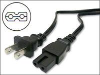 Jvc Lt-22de72 Dvd Player Power Cord Cable 6 Ft.