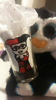 Harley Quinn Shotglasses (2) Holiday Party Special Occassion