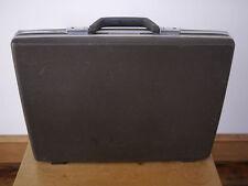 Vintage 70s SAMSONITE Hard Shell Brown Briefcase Document Laptop Case Attache