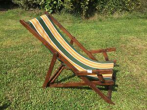 Sedia A Sdraio In Legno : Vecchia sedia a sdraio legno anni arredamento d epoca ebay
