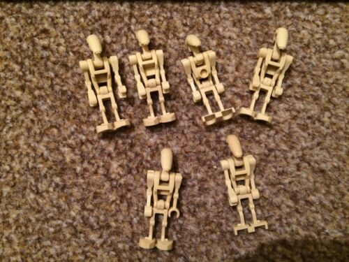 1 x LEGO Star Wars DROID Robot Minifigures Parts Pieces *CHEAPEST ON *