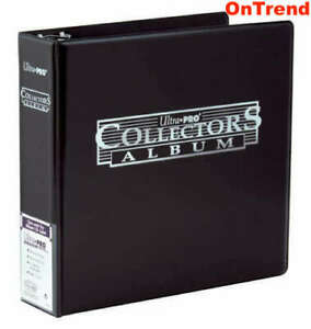 ULTRA-PRO-BLACK-3-Ring-Collectors-Album-Binder-for-Coins-Banknotes-Stamps-Ticket