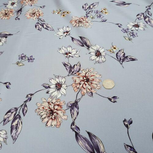 """par mètre couture robe en tissu Imprimé en Polyester /""""Gaia G/'"""
