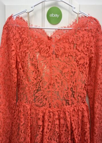 Us Coral Nwot750 Vk mini Aus 10 The kanten Lover 6 Label Roze Millie jurk kPuZOXiT