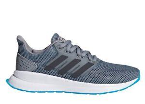 Adidas-RUNFALCON-K-F36539-Grigio-Sneakers-Donna-Bambini-Ginnastica-Running