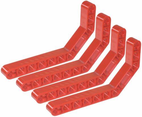 Manca LEGO Brick Rosso 32009 x 4 Technic Beam 3 x 3.8 x 7 LIFT braccio piegato 45 Edizioni