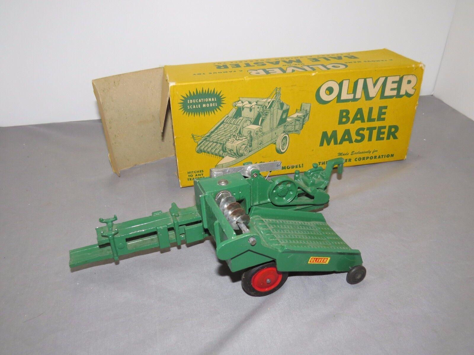Vintage Oliver Bale Master Empacadora Slik Slik Empacadora Juguete