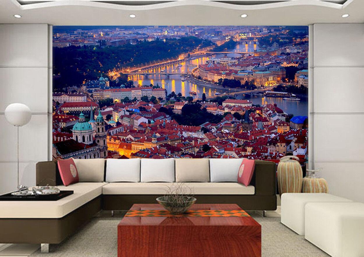 3D Städtische Nachtszene 888 888 888 Tapete Wandgemälde Tapeten Bild Familie DE Lemon | Das hochwertigste Material  | Rich-pünktliche Lieferung  |  6730e8