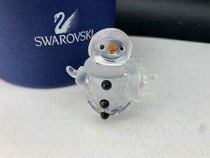 Swarovski-Figurine-Crystal-250229-Father-Snowman-5-7-CM-Boxed-amp-Certificate