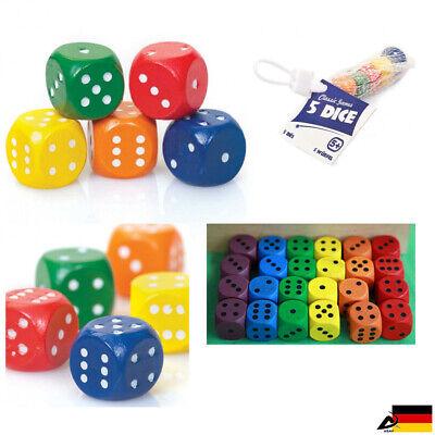 5x Würfelset Würfel Spielwürfel Würfelspiel Knobel Augenwürfel Spielezubehör Schmerzen Haben