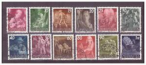 LIECHTENSTEIN-NR-251-262-SERIE-VOLLSTANDIG-OBLITEREE-ROMAN