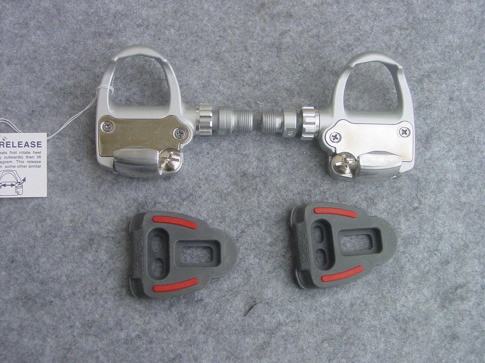 VP R 50 Bicicleta de Carreras Pedales silver Nuevo Emb. Orig. Similar Sistema