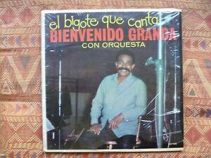Bienvenido Granda Con Orquestra El Bigote Que Canta Lp Us