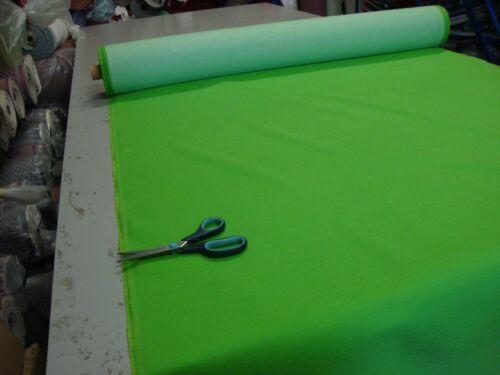 10 M Nantucket Green Designer Rideaux Tapisserie Tissu £ 1.99//Compteur