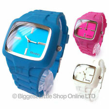 Henley Unisex Reloj De Moda Correa De Silicona En 3 Colores