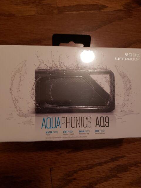 new product 1539e dd1f5 LifeProof Aquaphonics Aq9 Portable Bluetooth Speaker - Obsidian Sand