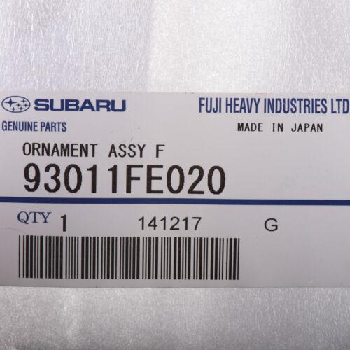OEM 2002 Subaru Impreza WRX Front Grille Star Emblem Badge NEW 93011FE020