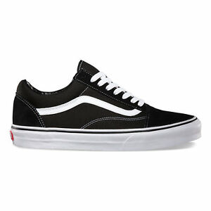 03fa5b5399723d Image is loading Vans-Old-Skool-Black-Skateboarding-Shoes-Classic-Canvas-