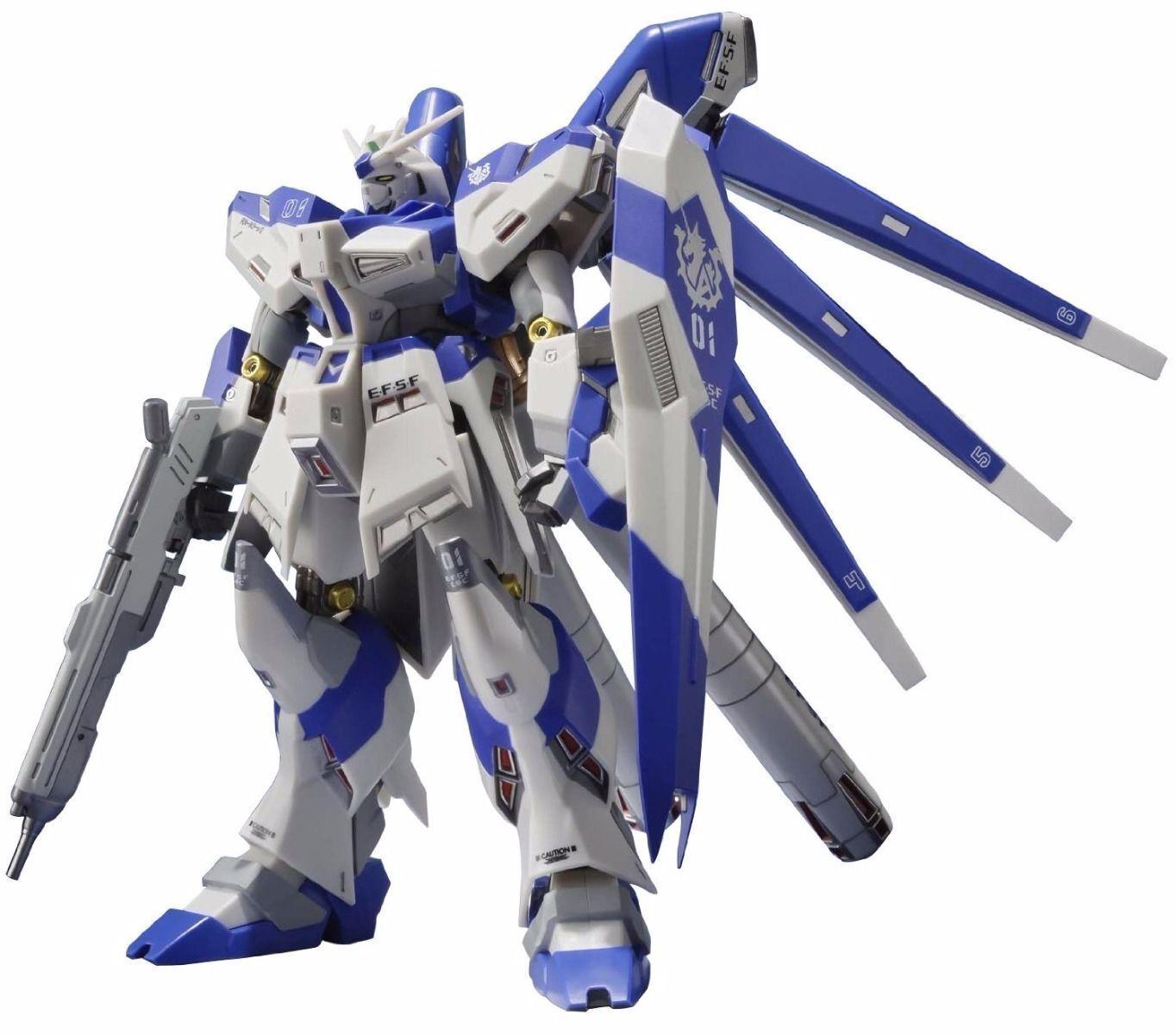 Metal Robot Spirits RX-93-v2 Hi Nu Gundam Figura De Acción BANDAI de Japón