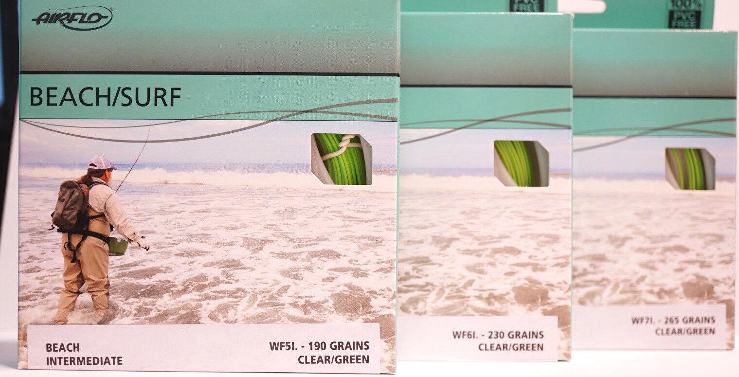 Airflo Beach  surf wf5i-wf7i Sky clear verde trucha marina costa still agua  A la venta con descuento del 70%.