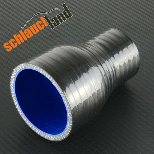 ID reductor 64-41mm negro *** silicona manguera reducción estrechamiento de tubo