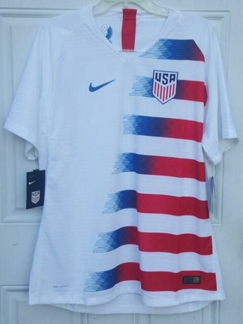 Nike 2018 United States USA Vaporknit Home Authentic Soccer Jersey Size XL