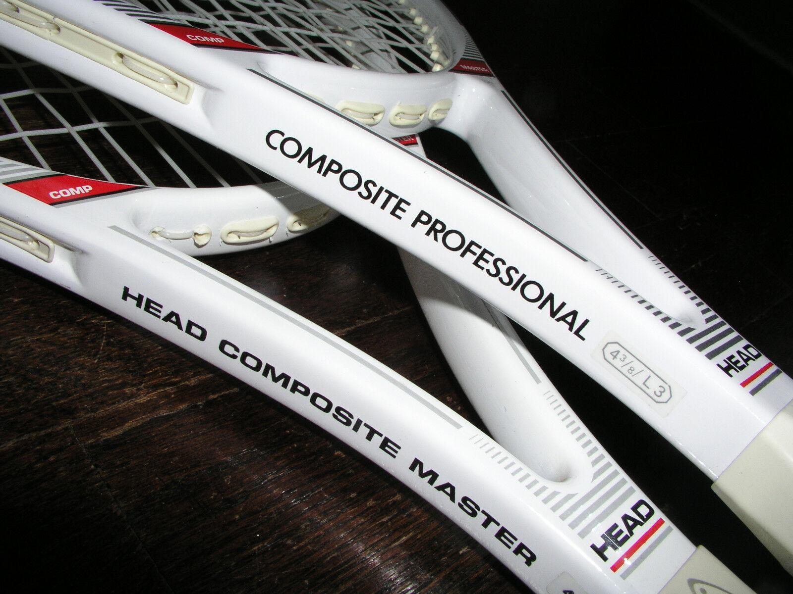 Head Composite Master Racquet MINT  w cover