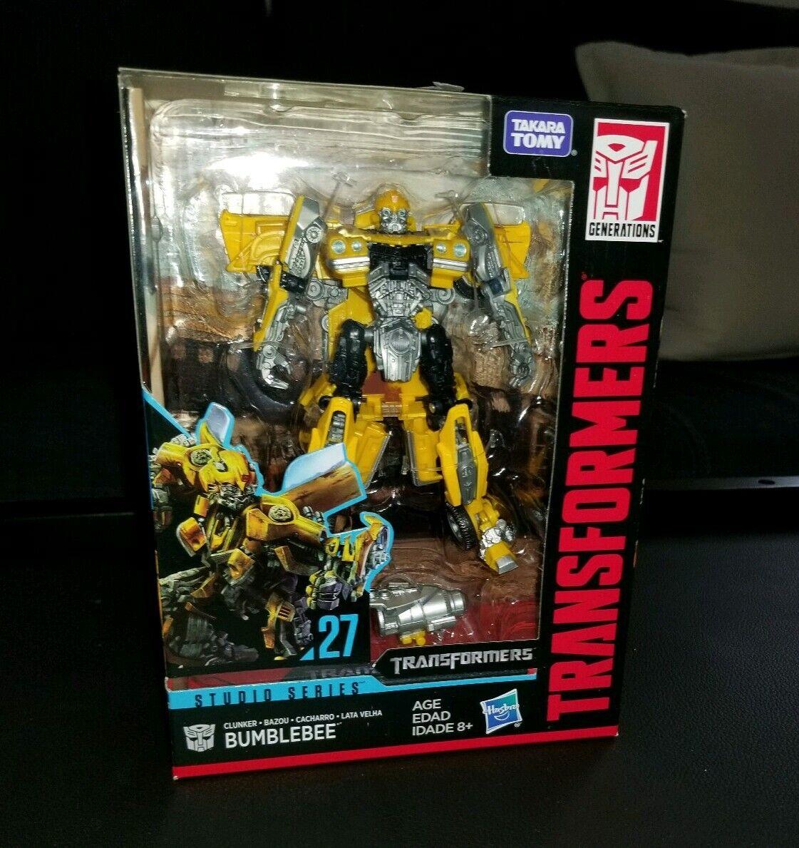 Bumblebee Transformers Studio Series Deluxe Class Action Figure new in box