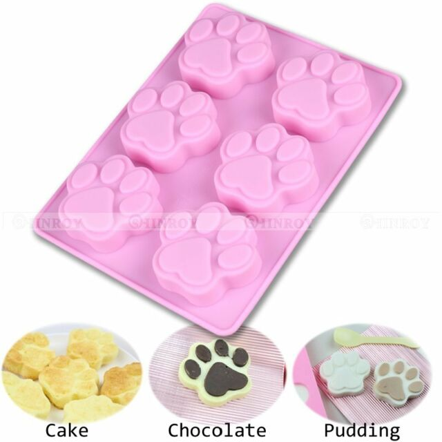 DIY Silicone Catlike Mold Candy Chocolate Cake Cookie Cupcake Soap Mould
