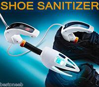 Ultraviolet Sanitizer Shoe Odor Remover Deodorizer Kills Germs Athlete's Foot