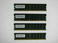 16gb 4x4gb Memory For Dell Poweredge 1855 6800 6850 Sc1420 Sc1425